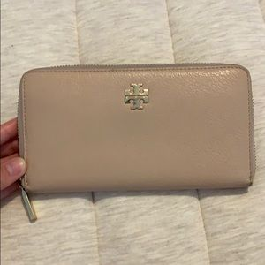 Blush Pink Tory Burch Wallet